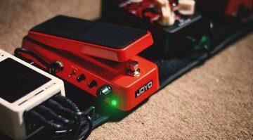 Das Joyo Audio Wah-II MULTIMODE im Einsatz auf dem Pedalboard.