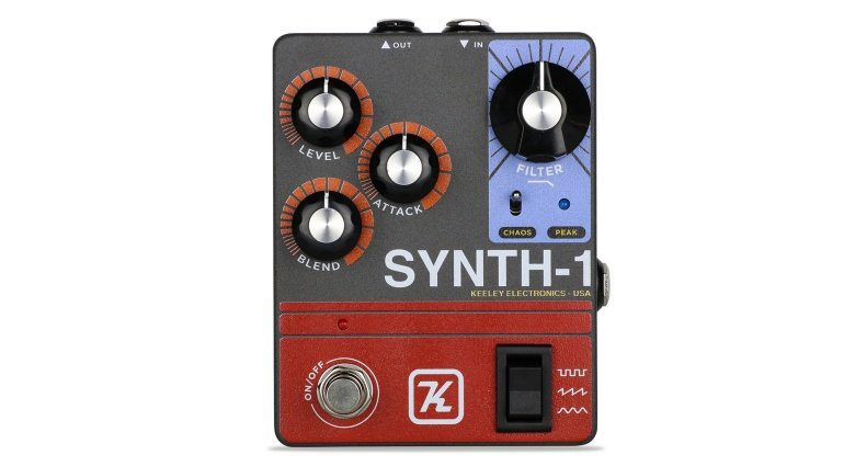 Das Synth-1 Pedal von Keeley Electronics.