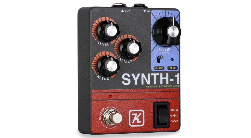 Das Keeley Synth-1 Pedal verspricht Abwechslung.