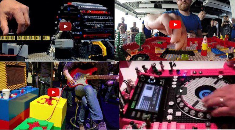 Lego Instruments und DJ-Tools