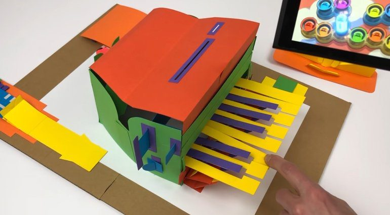 Nintendo Labo Piano Pop-up-Buch