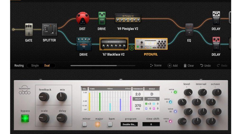 Auch in der BIAS FX 2 Version kann der User seiner Kreativität freien Lauf lassen.