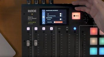 Rodecaster Pro Firmware 1-1-0 Update Multichannel