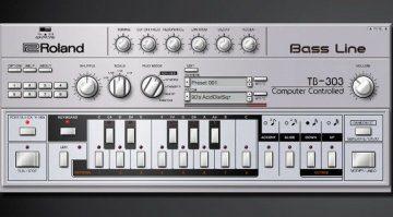 Endlich ist sie da: die echte Roland TB-303 Bass Line in der Roland Cloud