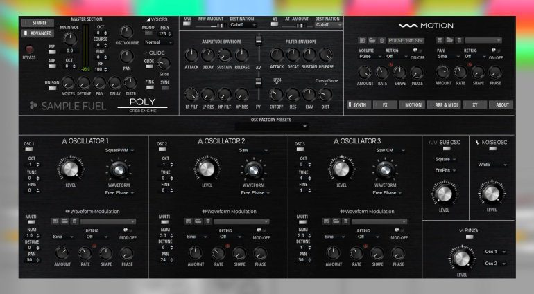 Sample Fuel Poly 2.0 - ein HALion Synthesizer der Extraklasse