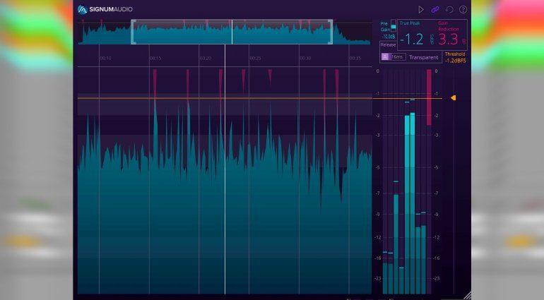 Signum Audio veröffentlicht BUTE das Limiter Plug-in