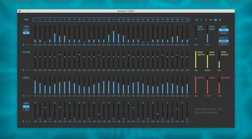 Sinevibes Stream - ein 32-Step Delay Sequencer für den Mac