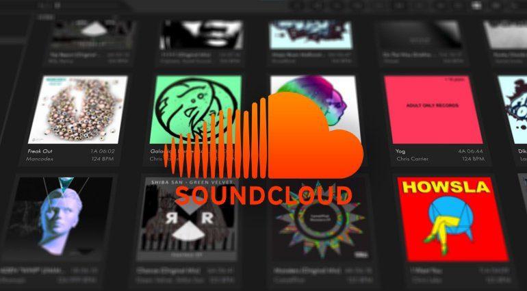 Mixvibes Cross 4 Soundcloud Collection