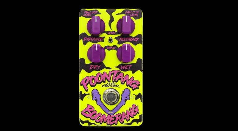 Steel Panther Poontang Boomerand Delay Pedal