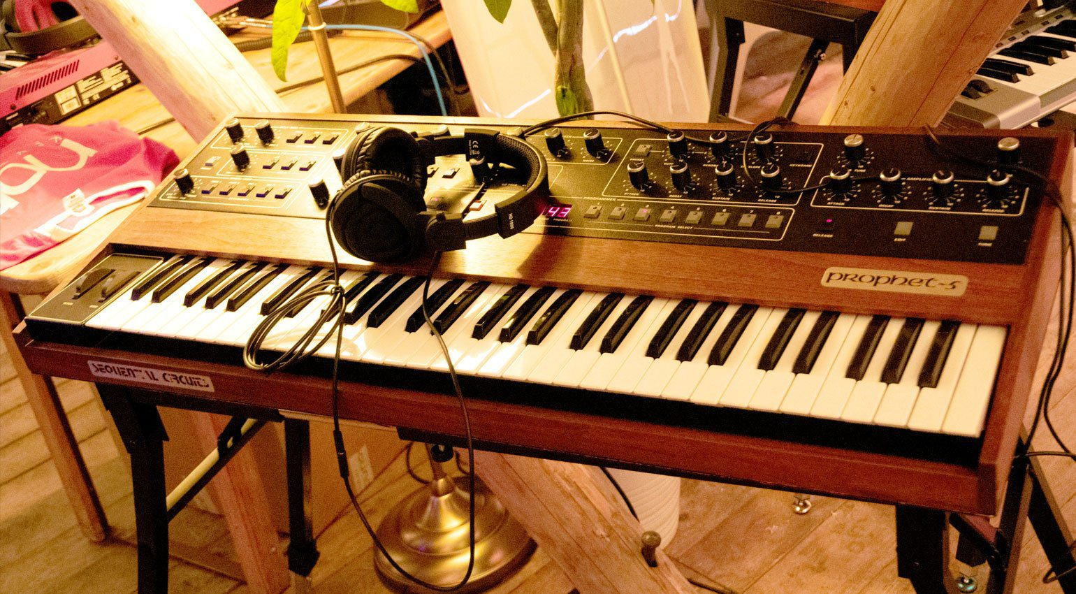 Sequential Circuits Prophet-5 beim TSR19