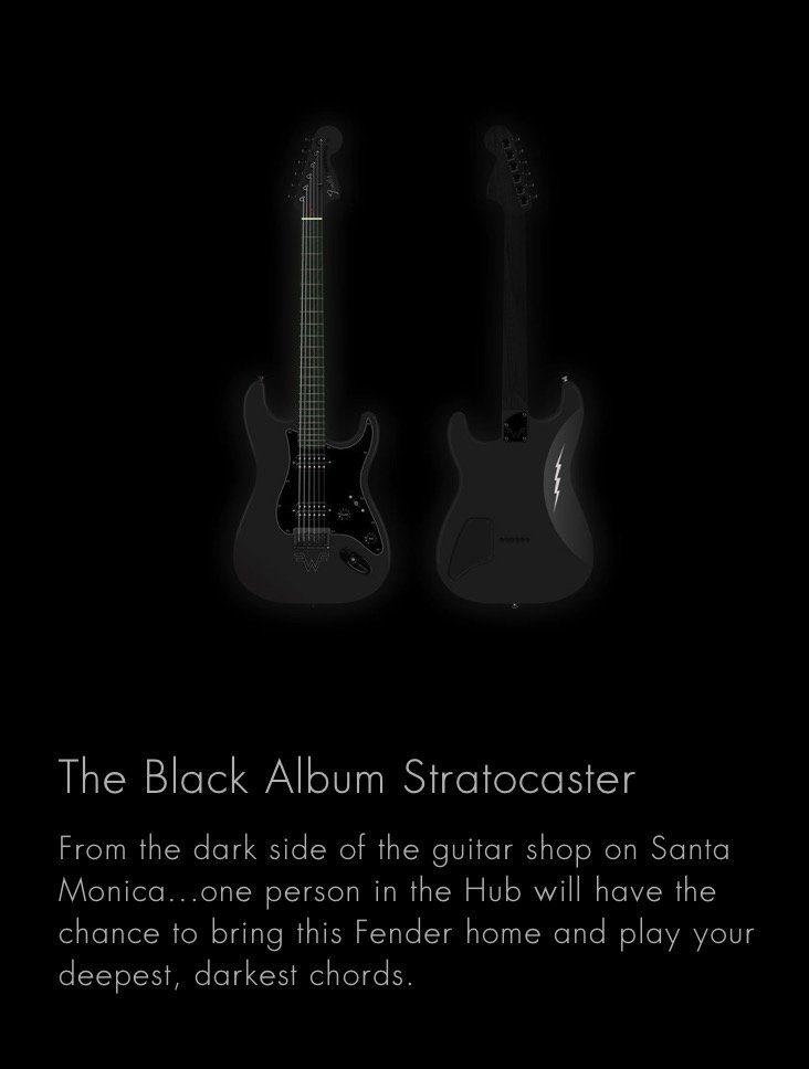 Weezer-Black-Metal-Hub-Fender-Strat