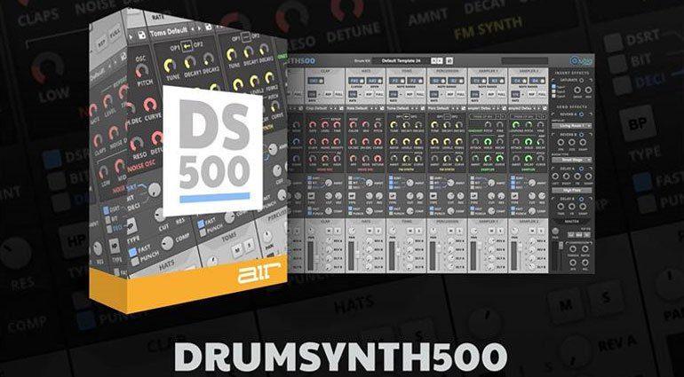 AIR, Akai Pro und Alesis machen mit Drum Synth 500 gemeinsame Sache