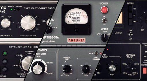 "Arturia veröffentlicht ""3 Compressors You'll Actually Use"""