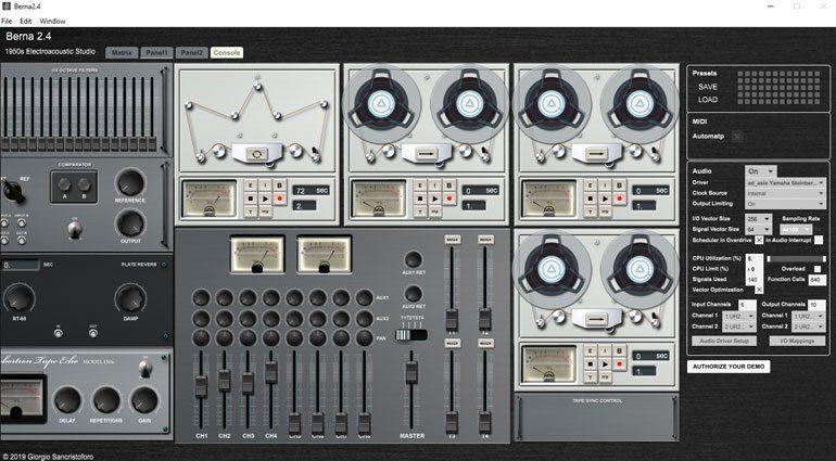 Im Soundlabor der Fünfziger mit dem elektronischen Studio Berna 2