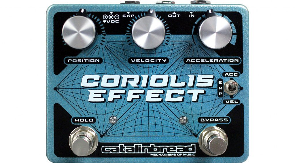 Catalinbread Coriolis Effect PEdal Front