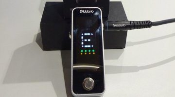 D'addario Chromatic Pedal Tuner Pedal Muskmesse