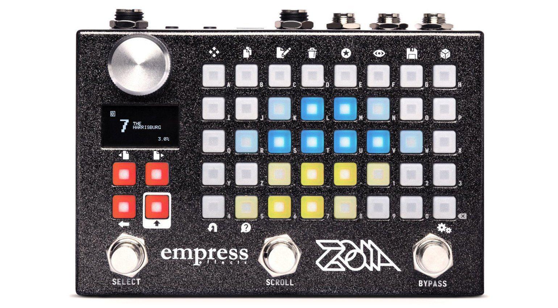 Empress Zoia Effekt Pedal Front