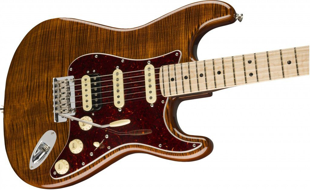 Fender Flame Maple Top Stratocaster Body