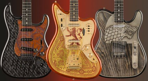 Fender Game of Thrones Custom Shop