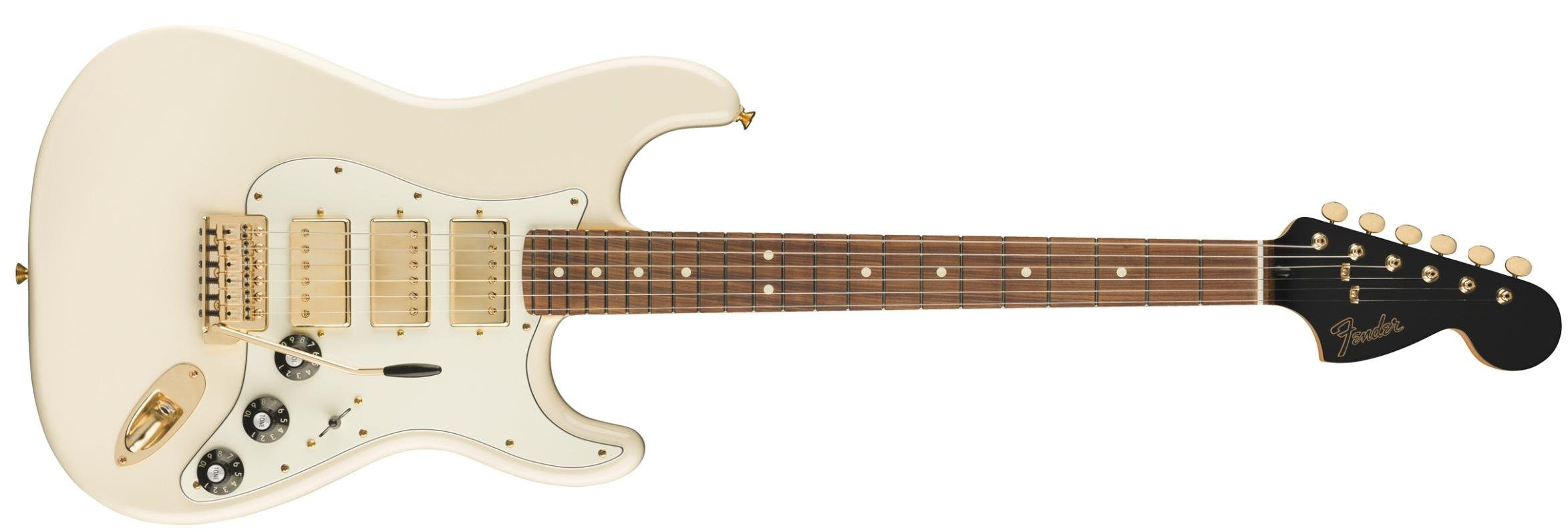 Fender Limited Blacktop Stratocaster Olympic White