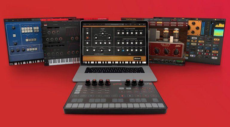 IK Multimedia UNO Synth jetzt mit Software im Wert von bis zu 199 Euro