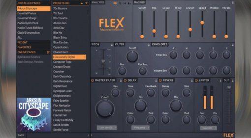 Image-Line FL Studio Beta 20.1.2 enthält neuen FLEX Synthesizer
