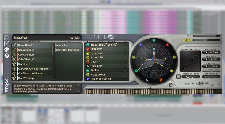 Imoxplus Respiro - ein Physical Modelling Synthesizer für Holzbläser