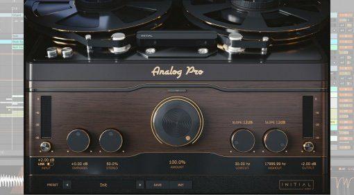 Initial Audio Analog Pro - ein Tape und Vinyl Simulations-Plug-in