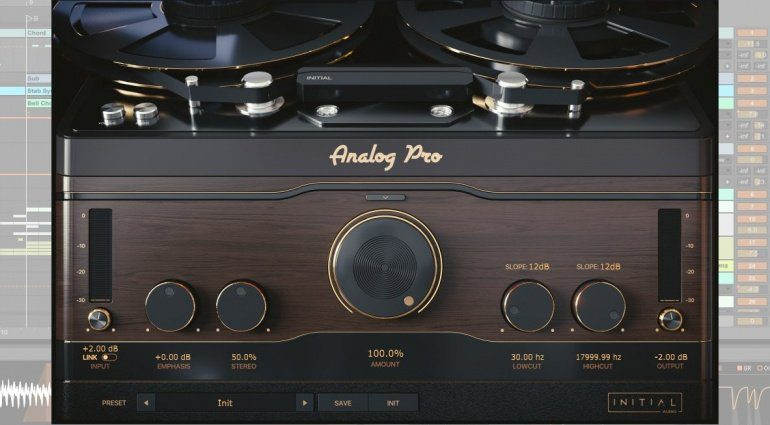 Initial Audio Analog Pro - ein Tape und Vinyl Simulations-Plug-in