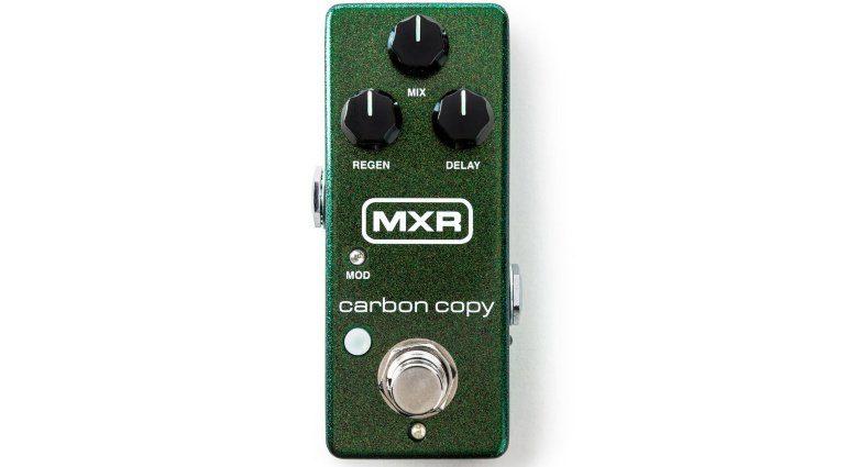 MXR Carbon Copy Mini Effekt Pedal Delay