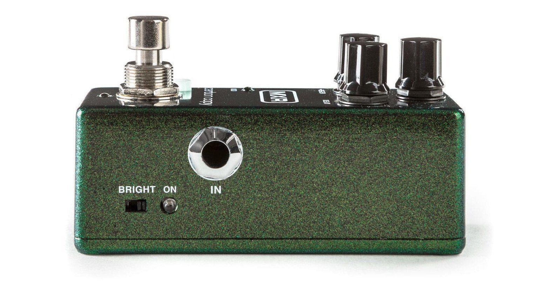 MXR Carbon Copy Mini Effekt Pedal Delay Seite Bright Schalter