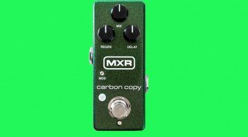MXR Carbon Copy Mini Effekt Pedal Delay Teaser