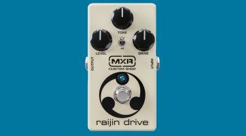 MXR Raijin Drive Overdrive Distortion Pedal