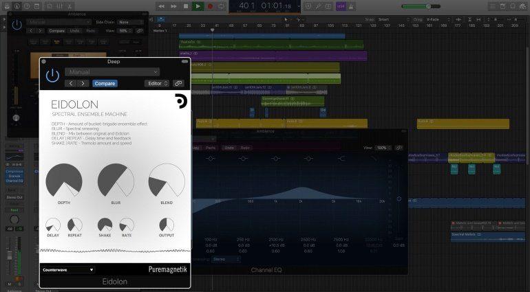 Puremagnetik veröffentlicht die Spectral Ensemble Machine Eidolon