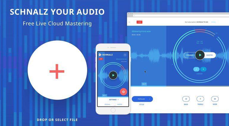 Schnalz Your Audio - kostenloses Online Mastering für jedermann