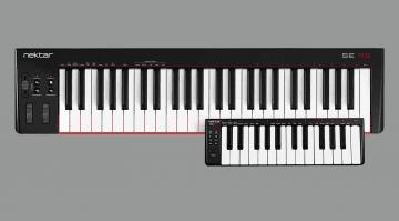 Nektar SE25 und SE49 MIDI Controller-Keyboard
