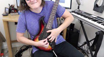 Sopran E-gitarre Video teaser 38 bünde