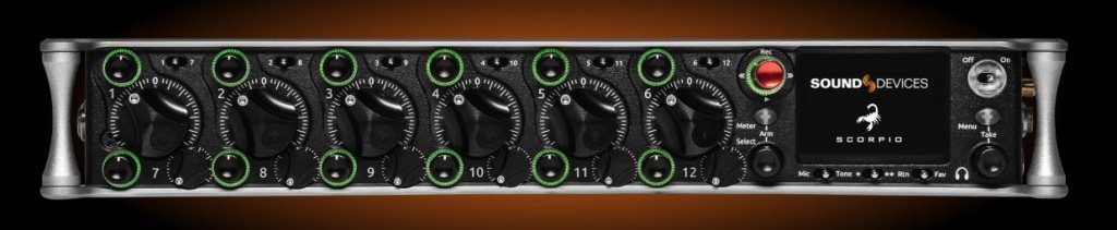 Sound Devices Scorpio Front