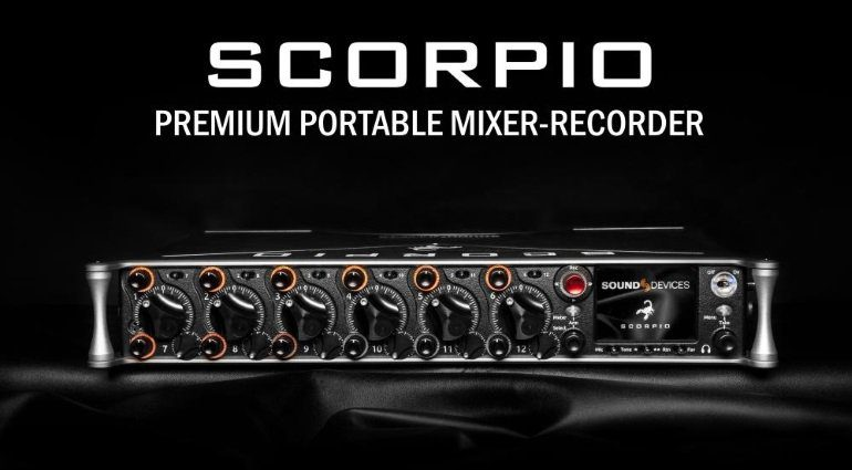 Sound Devices Scorpio Recorder
