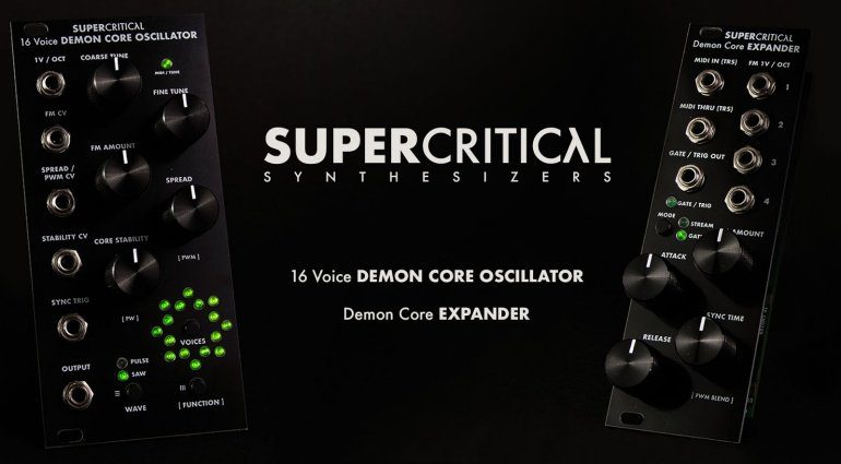 Supercritical Demon Core Oscillator