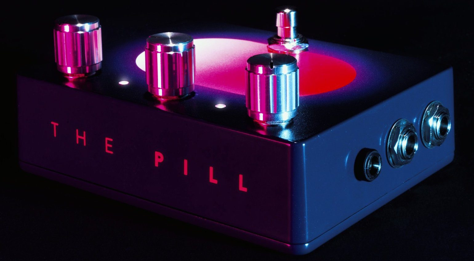 The Pill Effekt Pedal Ducking Sidechain Analog Seite