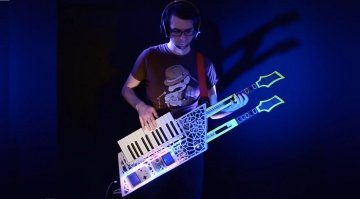 theremin Hero Gamebox Keytar