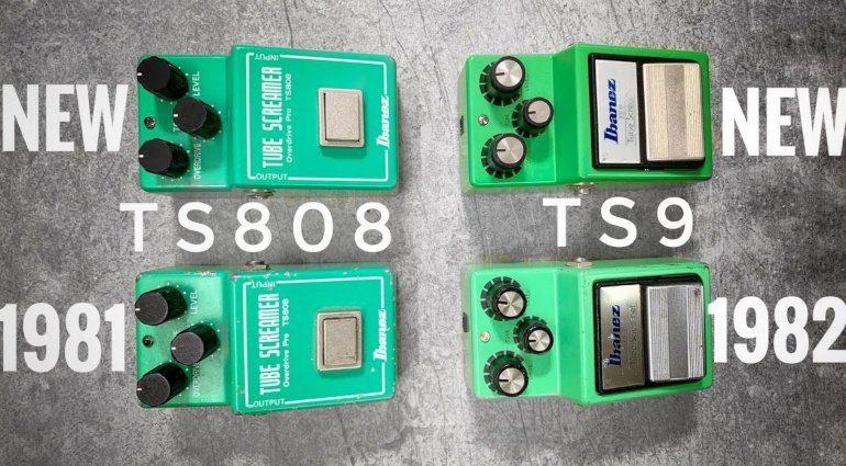 Tube Screamer Vergleich Johan Segeborn TS808 TS9