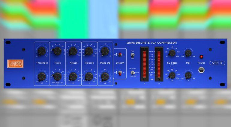 Vertigo Sound veröffentlicht Hardware-Emulation VSC-3 Plugin
