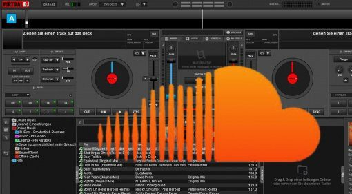 Virtual DJ 8 & Soundcloud