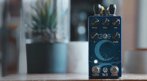 Walrus Audio Slö Multi Effekt Pedal Reverb Digital