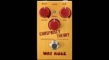 Way Huge Conspiracy Theory Overdrive Effekt Pedal