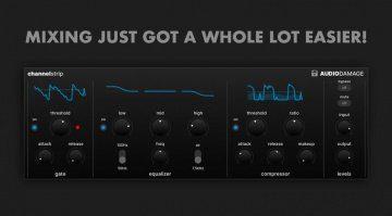 Audio Damage ChannelStrip und das Mixen auf dem iPad wird einfacher