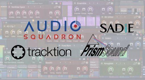 Audio Squadron - Tracktion kündigt Zusammenarbeit mit Prism Sound und Sadie an