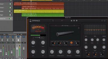 Audiothing Springs - mehr als eine Hand voll Spring Reverbs in einem Plug-in
